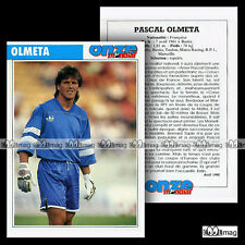 OLMETA PASCAL (MATRA RACING, RP 1) - Fiche Football 1990
