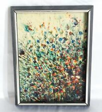 "Original Abstract Oil Painting on Canvas Board Titled ""Polychromatic C... Lot 87"