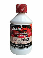 OPTIMA ACTIVJUICE CHERRY JUICE - GLUCOSAMINE FOR JOINTS HCI 1500MG. 500ml