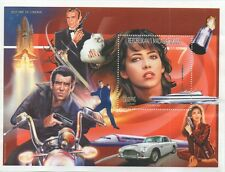 James BOND 007 SOPHIE MARCEAU Bond Girl storia del cinema 1999 FRANCOBOLLO SHEETLET