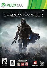 XBOX 360 MIDDLE EARTH SHADOW OF MORDOR - BRAND NEW - FREE SHIPPING WITH TRACKING