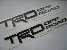 2 Toyota TRD 4x4 Off Road B/G Decals Stickers Tacoma 4runner Tundra