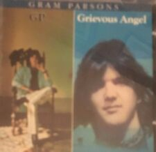 Gram Parsons GP / Grievious Angel 2 Complete Albums on 1 Disc VGC
