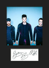 THE SCRIPT #5 Signed Photo Print A5 Mounted Photo Print - FREE DELIVERY