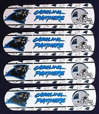 "New NFL CAROLINA PANTHERS 42"" Ceiling Fan BLADES ONLY"