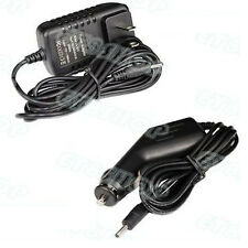 For Acer Iconia Tab A501 /A500 12V Wall Power Charger Adapter + Car Charger/Cord