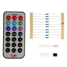 IR Remote Control 0038B DIY kit Transmitter Infrared Receiver 10K Resistor