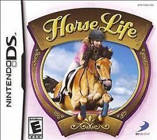 HORSE LIFE DS! DSI, LITE, XL, 3DS! FEED, RIDE, COMPETE, JUMP, CARE, HORSEZ