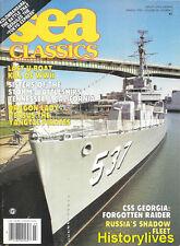 Sea Classics Mar.93 CSS Georgia Russia Kolombangara Tokyo Express California