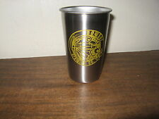 BOWSER BREWING CO.1st Micro-brewery / Great Falls,MT. Stainless Steel Beer Glass