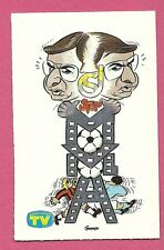 Carlo Sassi 1980s Italian TV Caricature Sticker