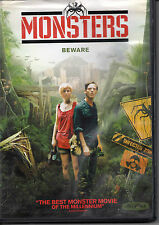 "MAKE OFFER FREE SHIP ""Monsters"" DVD horror thriller invasion whitney able"