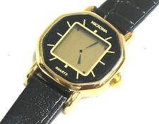 Microma Vintage LCD Quartz Ladies Wrist Watch w/ Box-NOS