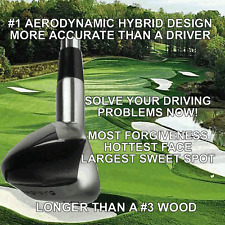 #1 BLACKMAGIC PGA DRIVING ONE IRON WOOD HYBRID LONG DRIVER ILLEGAL DISTANCE CLUB