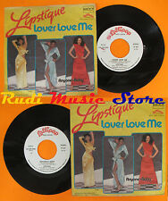 LP 45 7''LIPSTIQUE Lover love me Anyone's baby 1979 italy LOLLIPOP cd mc dvd vhs