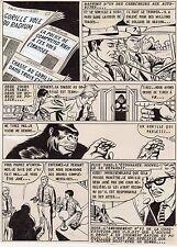 JOHN DOE LE GORILLE  PLANCHE DE MONTAGE AVENTURES FICTION ARTIMA 1959 PAGE 5