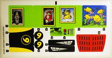 LEGO 8160 - Speed Racer - Cruncher Block & Racer X - STICKER SHEET