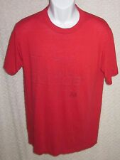 1984 Red Vintage adidas t-shirt size adult Large