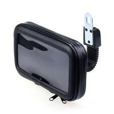 Neuf Moto Étanche Rétroviseur Montage Support Coque Pour TéléPhone GPS 12.7cm