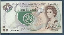 Isle of Man 10 Pounds, 1983, P 42, Sign 6, UNC