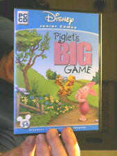 PIGLET'S BIG GAME DISNEY JUNIOR GAMES PC CD GREAT GIFT  FREE UK POST
