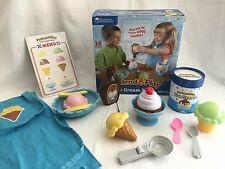 Learning Resources LER9077 Ice Cream Shoppe Pretend and Play food kitchen
