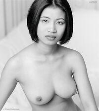 Fine Art Nude Thai Model signed b&w photo by Craig Morey: Om 81625.04