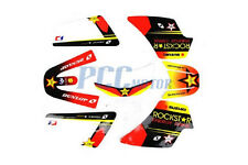 ROCKSTAR GRAPHICS DECAL STICKERS KIT PW50 PW 50CC M DE41