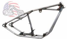 Kraft Tech Raked Straight Backbone Rigid Hardtail Frame Harley Big Twin Custom