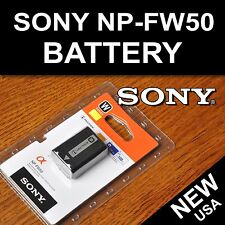 New NP-FW50 Battery for Sony A6300, A6000, A5000, A3000,  A7R, Alpha 7, Alpha 7R