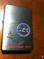 ZIPPO NAVY Military Lighter USS JOHN C STENNIS CVN 74 Unused Lighter ESTATEFIND
