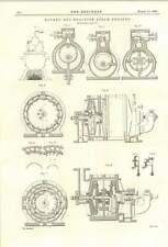 1894 Electric Signals For Warships Continued Rotary Reaction Steam Engines