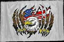 ATV, UTV, Motorcycle, 4x4 Safety Whip Flag, Eagle Tear