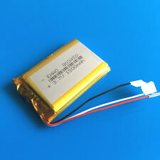 1500mAh 3.7V Li Po Rechargeable Battery 3 wires 803450 for PAD PC DVD Camera MID