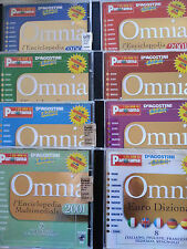 Enciclopedia multimediale Omnia 2001 8 cd