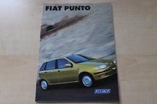 89064) Fiat Punto Prospekt 09/1996