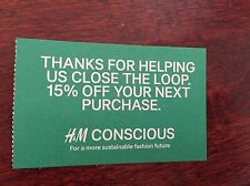 H&M COUPON 15% OFF Discount on ENTIRE STORE PURCHASE Expire 8/31/17