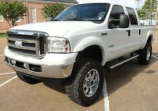 Ford: F-250 LARIAT FX4 4X4 4WD POWERSTROKE DIESEL LIFTED 20""