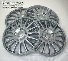 "4pcs Wheel Cover Rim Skin Covers 15"" Inch, Style 611 15 Inches Hubcap Hub Caps"