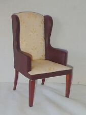 1/6th scale winged arm chair fits 12 - 14 inch doll Blythe Barbie Fashion JBM