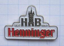 HENNINGER LOGO / FRANKFURT    ................... Bier-Pin (102k)
