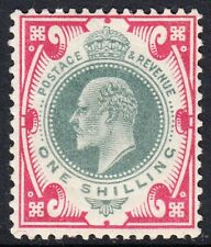 SG 257 Dull Green & Carmine Pink M45(3)  very fine & fresh lightly mounted mint