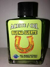 MYSTICAL / SPIRITUAL OIL (ACEITE) FOR SPELLS & ANOINTING 1/2 OZ GOOD LUCK