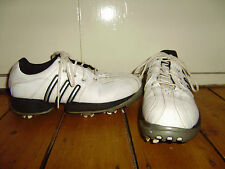 ADIDAS Z - TRAXION LEATHER GOLF SHOES SIZE 4 GOOD CONDITION NO RESERVE !!!
