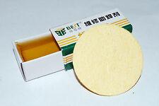 Rosin Soldering Paste Flux Paste& High Temp Sponge Clean Sponge Clear US A288