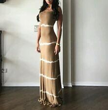 guess by marciano Gisella Tie-Dye mocha latte Dress size XS