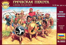 Zvezda 1/72 8005 Greek Infantry 5th-4th BCE (45 Figures, 15 Poses)