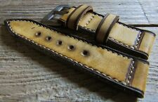 handmade  Strap vintage style for Panerai watch  26/26  137/85