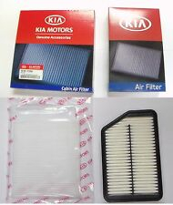 Genuine Kia Sportage 2 Piece Filter Kit OEM Air Filter and A/C Cabin Air Filter