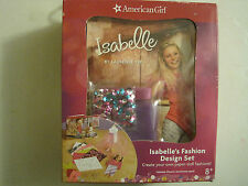 American Girl Isabelle's Fashion Design Set -Brand New In A Box